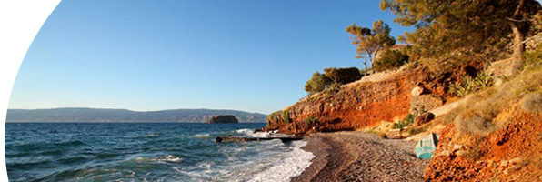 HydraDirect - One of Hydra's Lovely Beaches