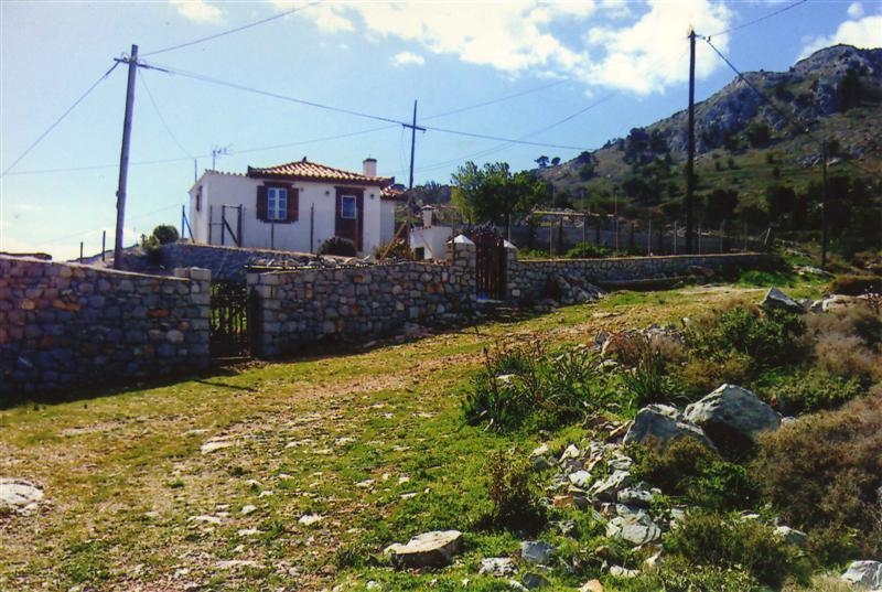 A twelve year old house close to Miramare beach on the island of Hydra.